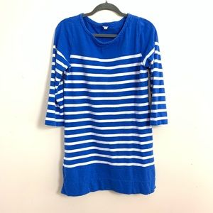 Womens J. Crew Blue White Knit